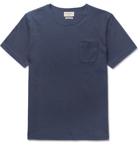 OLIVER SPENCER LOUNGEWEAR Supima Cotton-Jersey T-Shirt