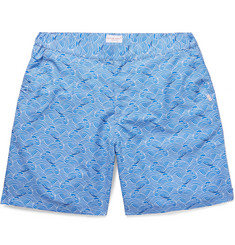 Derek Rose Mid-Length Printed Swim Shorts