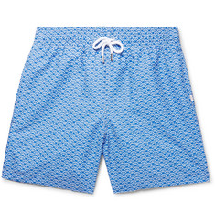 Derek Rose Tropez Mid-Length Printed Swim Shorts