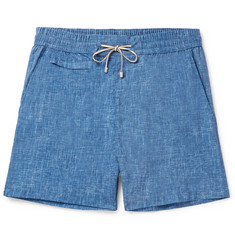 Loro Piana Maui Mid-Length Printed Swim Shorts