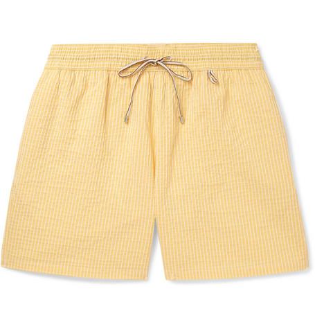 Bay Mid-length Swim Shorts Loro Piana Buy Online Cheap QgDO1Oomoe