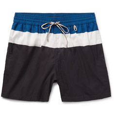 Loro Piana Mid-Length Striped Swim Shorts