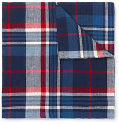 Polo Ralph Lauren Checked Cotton Pocket Square