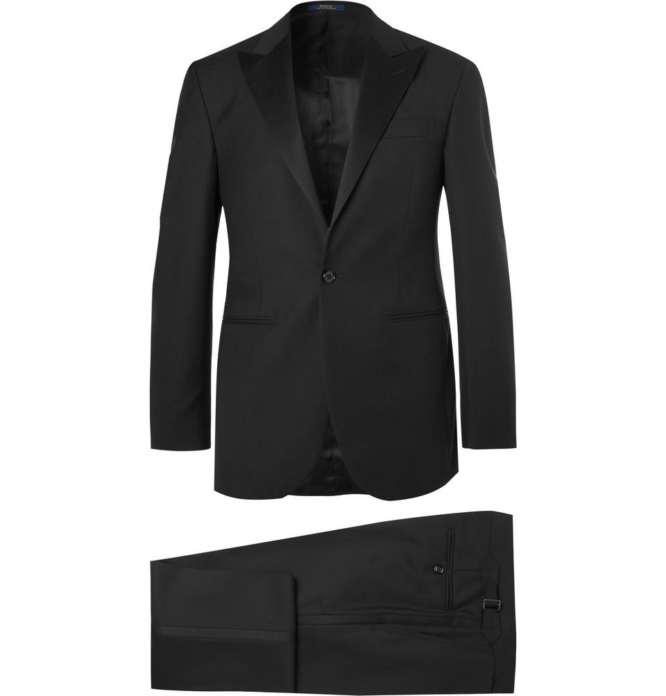 Billede af Black Fairbanks Slim-fit Wool Tuxedo - Black