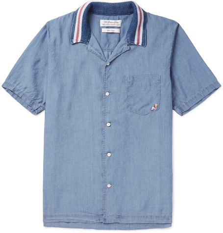Checked Linen Shirt - NavyRemi Relief À La Recherche De Prix Pas Cher 2AiRMT