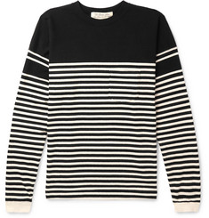 Remi Relief - Striped Cotton-Jersey Sweatshirt