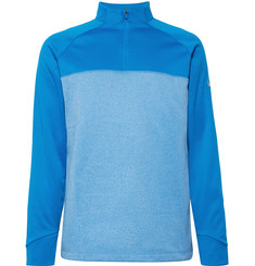 Nike Golf Therma Core Fleece-Back Jersey Half-Zip Golf Top