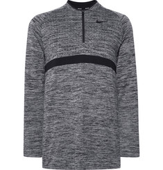 Nike Golf - Mélange Dri-FIT Half-Zip Golf Top