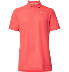 Nike Golf AeroReact Victory Striped Golf Polo Shirt