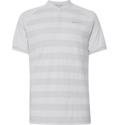 47bea796 Nike Golf - Zonal Cooling Momentum Striped Mesh Golf T-Shirt