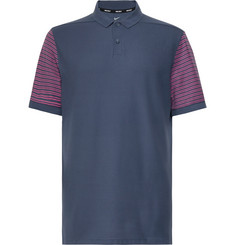 Nike Golf Striped Dri-FIT Piqué Golf Polo Shirt