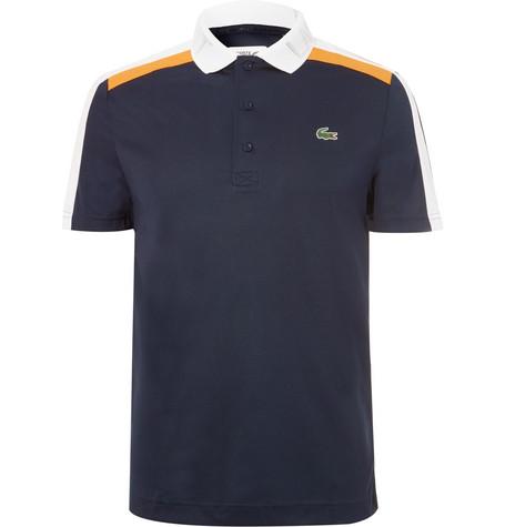Colour Block Piqué Tennis Polo Shirt by Lacoste Tennis