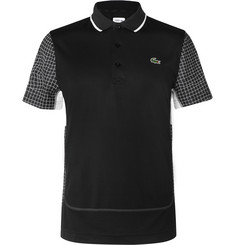 Lacoste Tennis - Panelled Tech-Piqué Polo Shirt