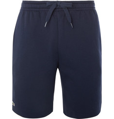 Lacoste Tennis - Fleece-Back Cotton-Blend Jersey Tennis Shorts