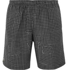 Lacoste Tennis - Checked Ripstop Tennis Shorts
