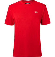 Lacoste Tennis - Cotton-Blend Jersey Tennis T-Shirt