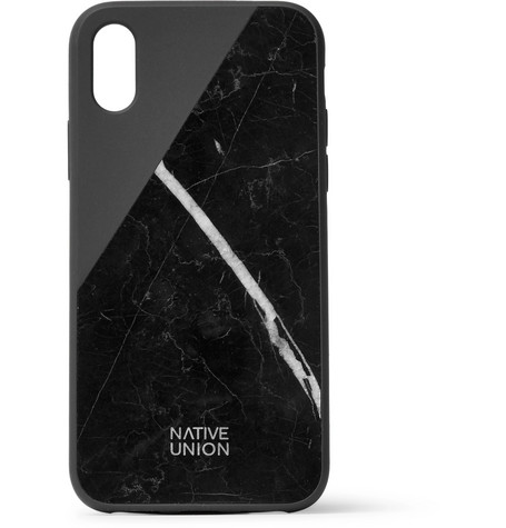 super popular 0eb8e 950a9 Native Union - Clic Marble and Rubber iPhone X Case