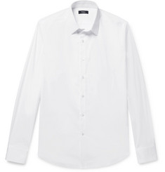 Theory Sylvain Slim-Fit Stretch Cotton-Blend Shirt