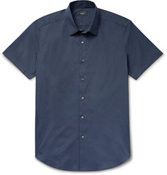 Theory - Sylvain Slim-Fit Stretch Cotton-Blend Shirt
