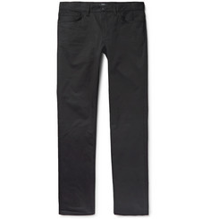 Theory - Haydin Slim-Fit Stretch-Cotton Twill Trousers