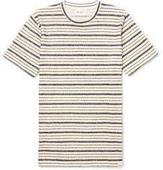 Norse Projects Niels Textured Striped Cotton-Blend Jersey T-Shirt