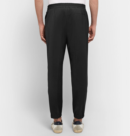 Tapered Woven Drawstring Trousers by Mc Q Alexander Mc Queen