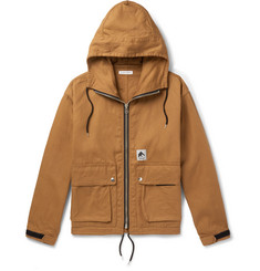 Flagstuff Cotton-Canvas Hooded Jacket