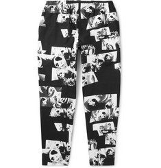 Flagstuff Printed Cotton Trousers