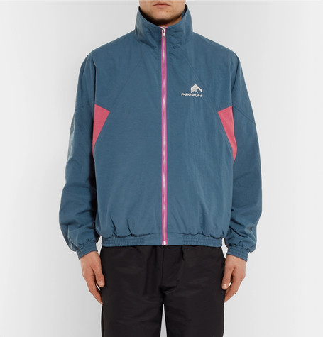 Colour Block Shell Track Jacket by Flagstuff