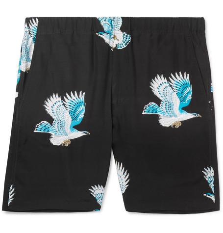 FLAGSTUFF Printed Woven Shorts