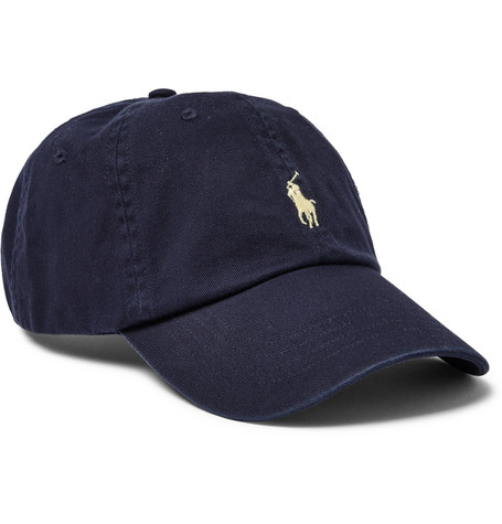e729650f9 Shoptagr | Logo Embroidered Cotton Twill Baseball Cap by Polo Ralph ...