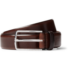 Hugo Boss - 3cm Brown Leather Belt