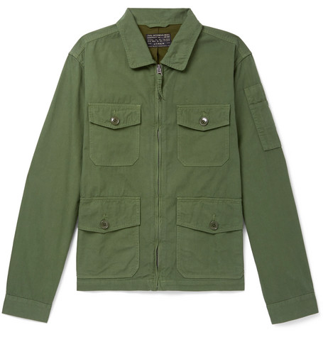 J. Crew Cotton Field Jacket