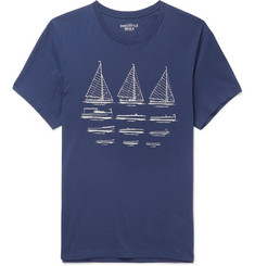 J.Crew Printed Cotton-Jersey T-Shirt