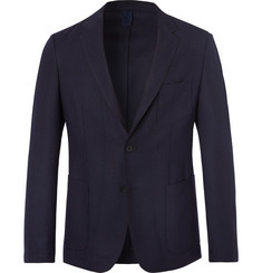 Hugo Boss Navy Noswen Virgin Wool Blazer