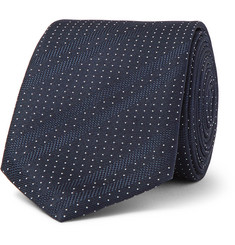Hugo Boss 6cm Polka-Dot Silk Tie