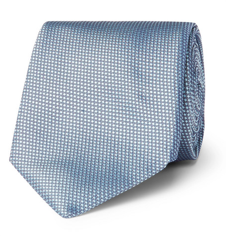 hugo boss male 75cm silkjacquard tie