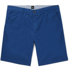Hugo Boss Crigan Stretch-Cotton Twill Shorts