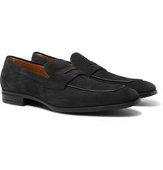 Hugo Boss - Kensington Suede Penny Loafers