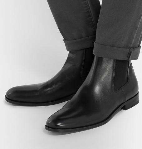 Cardiff Leather Chelsea Boots - BlackHUGO BOSS cMJyl9