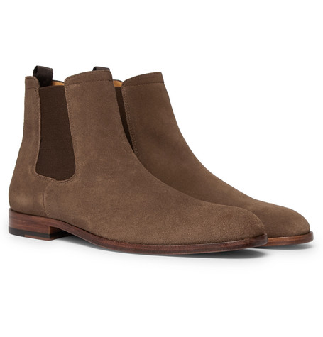 Cardiff Suede Chelsea Boots