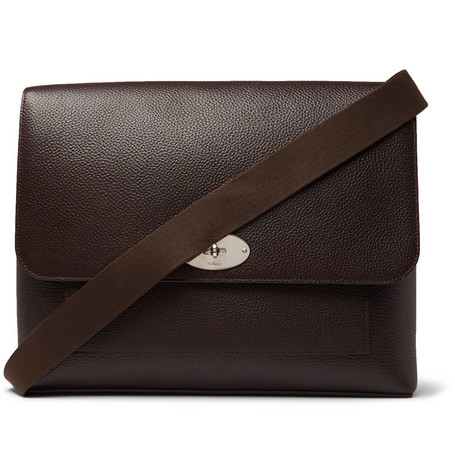 42bb4aa8eae ... coupon code mulberry east west anthony padlock pebble grain leather  messenger bag brown d38fc d7def ...