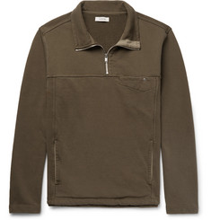nonnative Explorer Loopback Cotton-Jersey Half-Zip Sweatshirt