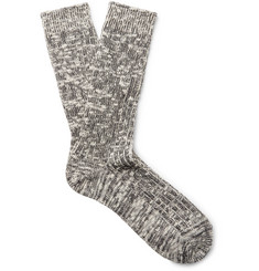 nonnative - Dweller Ribbed Cotton-Blend Socks