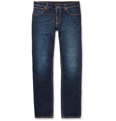 Dude Dan Organic Stretch-denim Jeans Nudie Jeans 8UtfMOLr