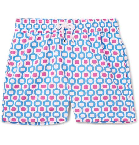 FRESCOBOL CARIOCA Ipanema Slim-Fit Long-Length Printed Swim Shorts