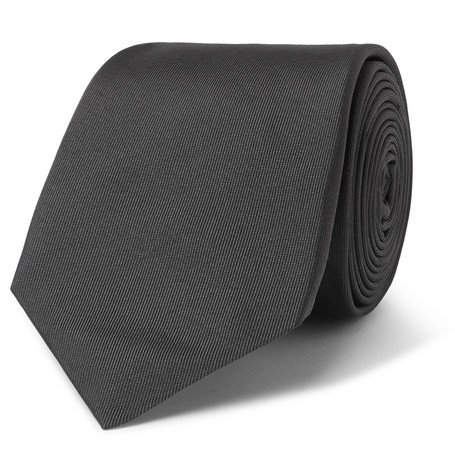 6.5cm Embroidered Silk-jacquard Tie