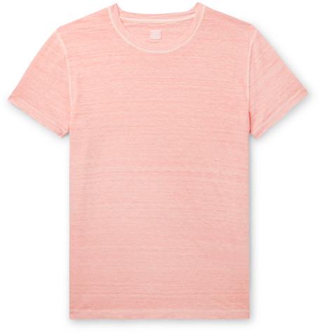 Slub Linen T-shirt - Pink