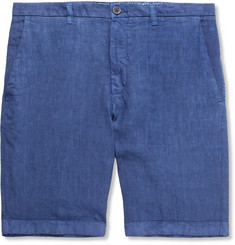 120% Slim-Fit Linen Shorts