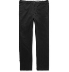 Pilgrim Surf + Supply Seaton Slim-Fit Brushed Stretch-Cotton Twill Trousers